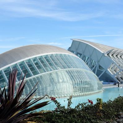 Des bâtiments très modernes et à l'architecture contemporaine