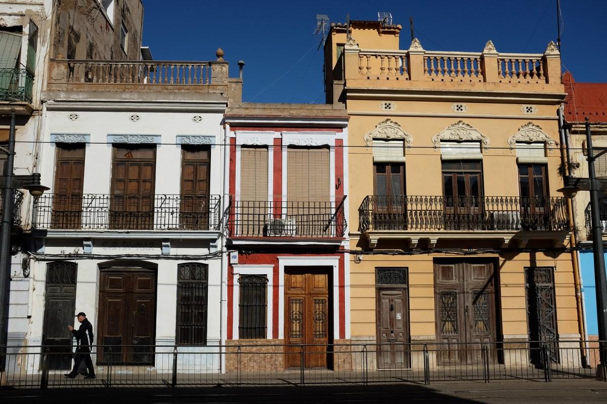 Valencia barrio cabanyal