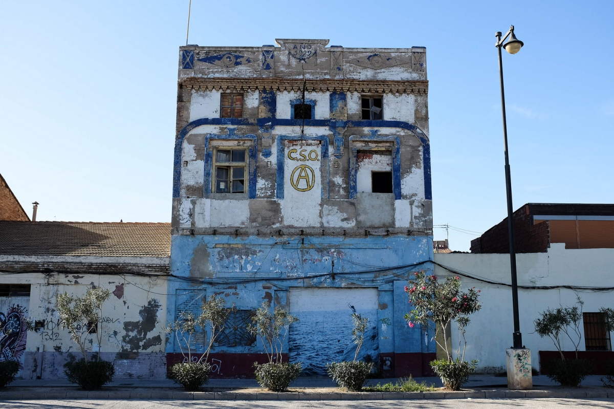 Valencia cabanyal house