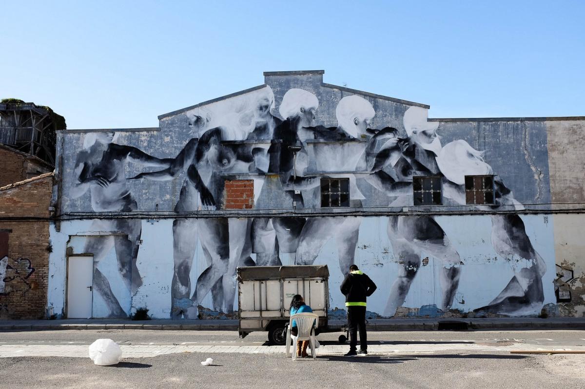 Valencia Cabanyal street art