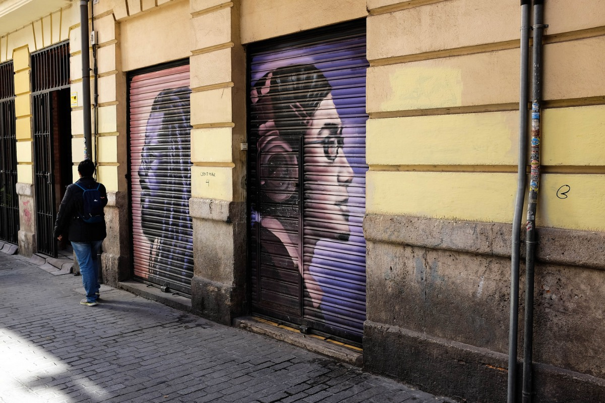 Valencia Carmen street art