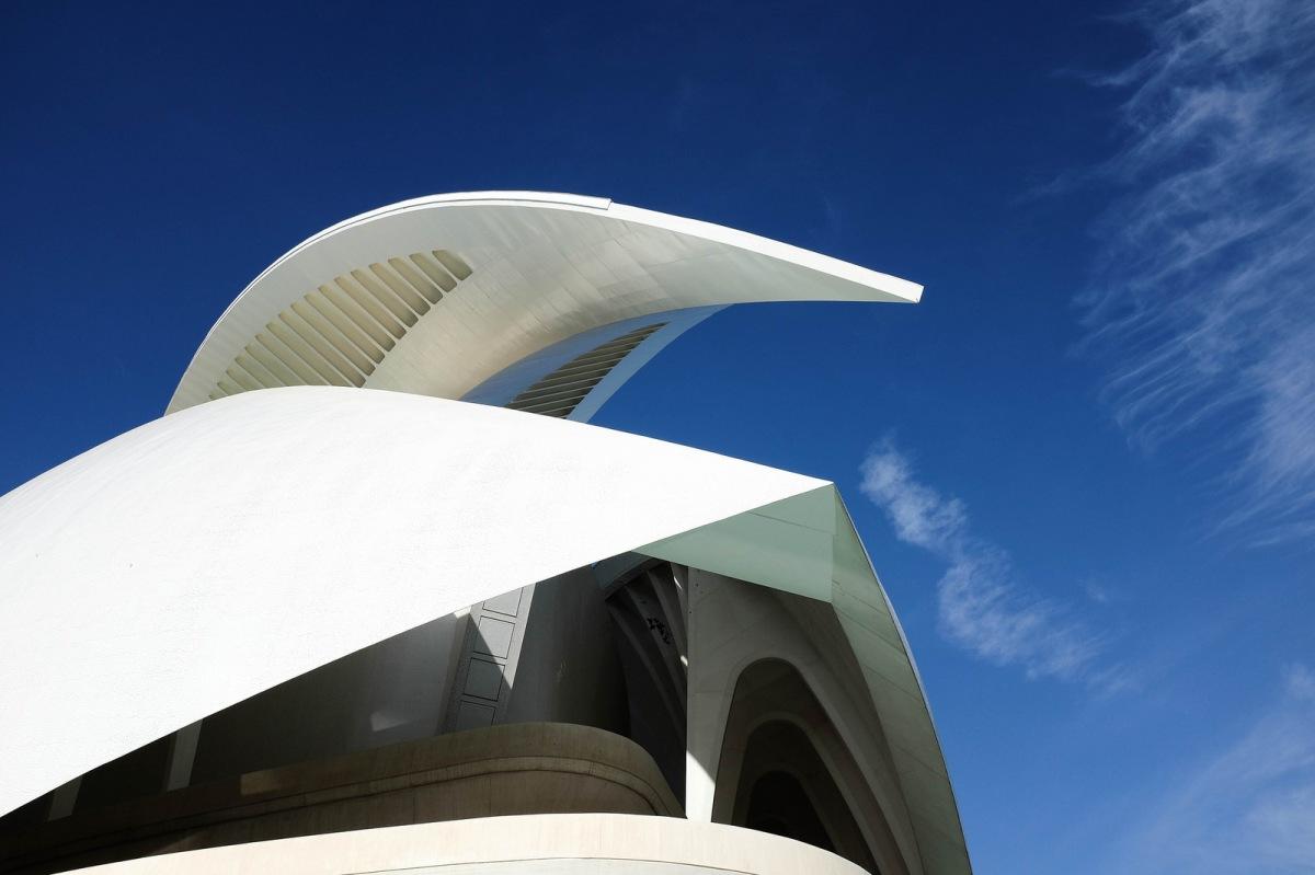 Valencia futuristic architecture