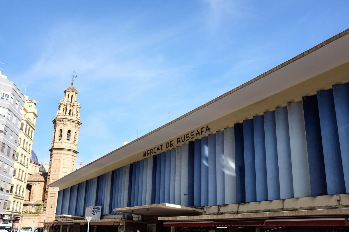 Valencia mercat russafa