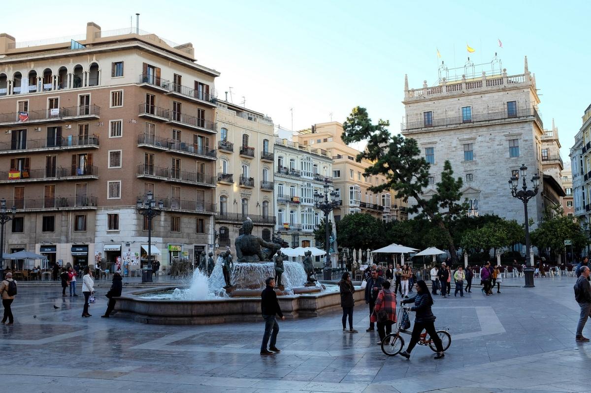 Valencia plaza virgen