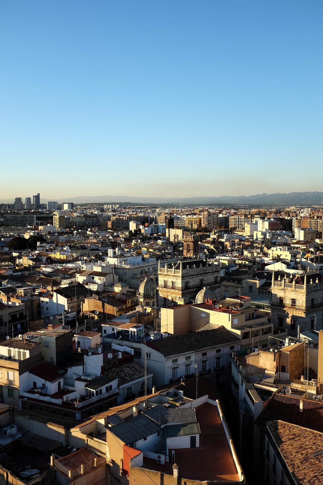 Valencia skyline