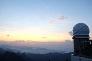 Coucher de soleil depuis le Pic du Midi