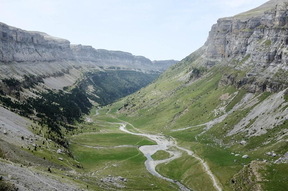 Pyrenees Ordesa canyon