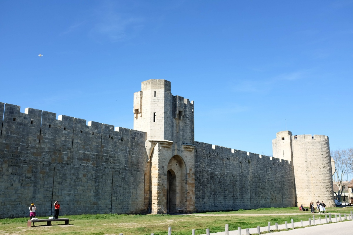 Aigues mortes fortifications