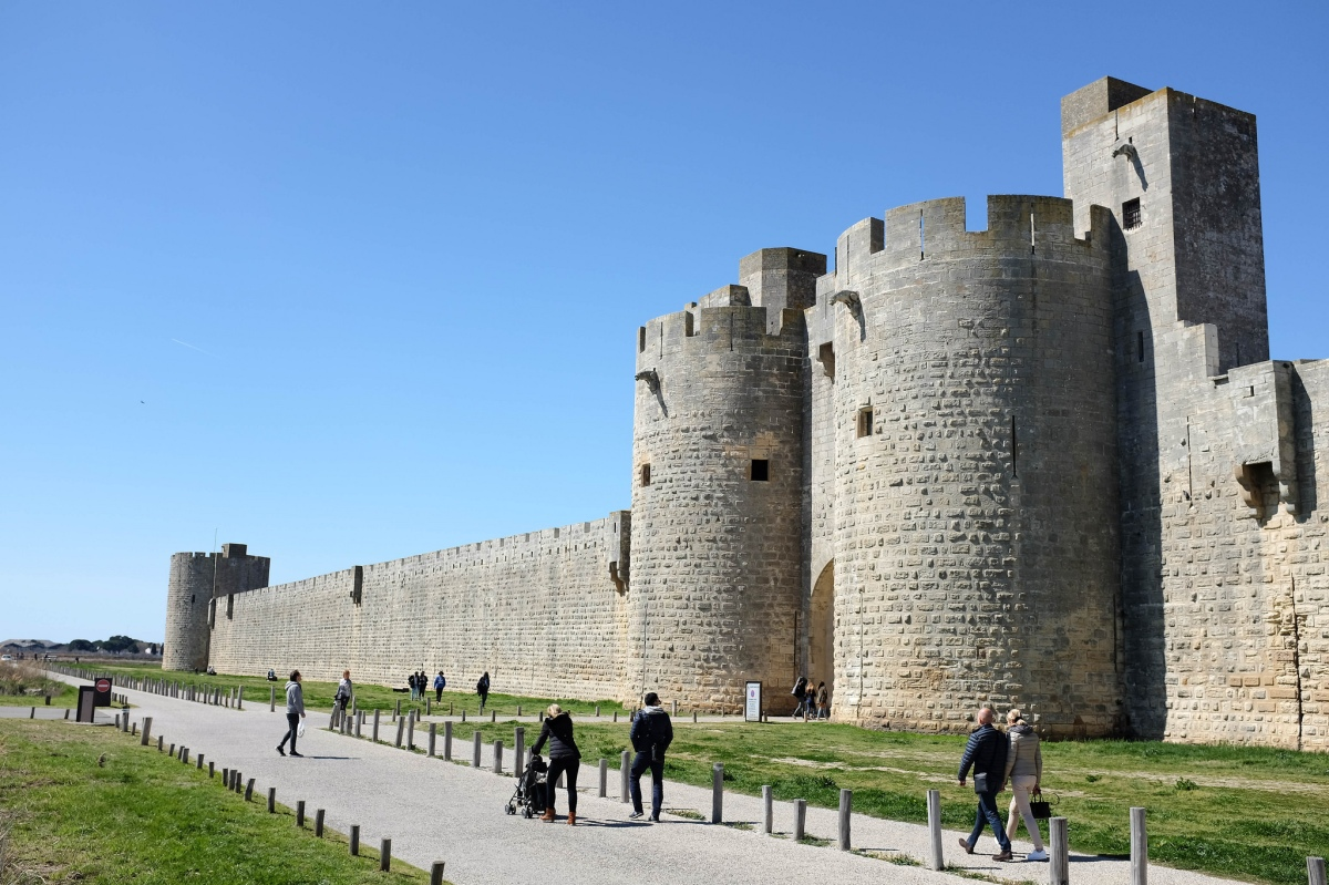Aigues mortes remparts
