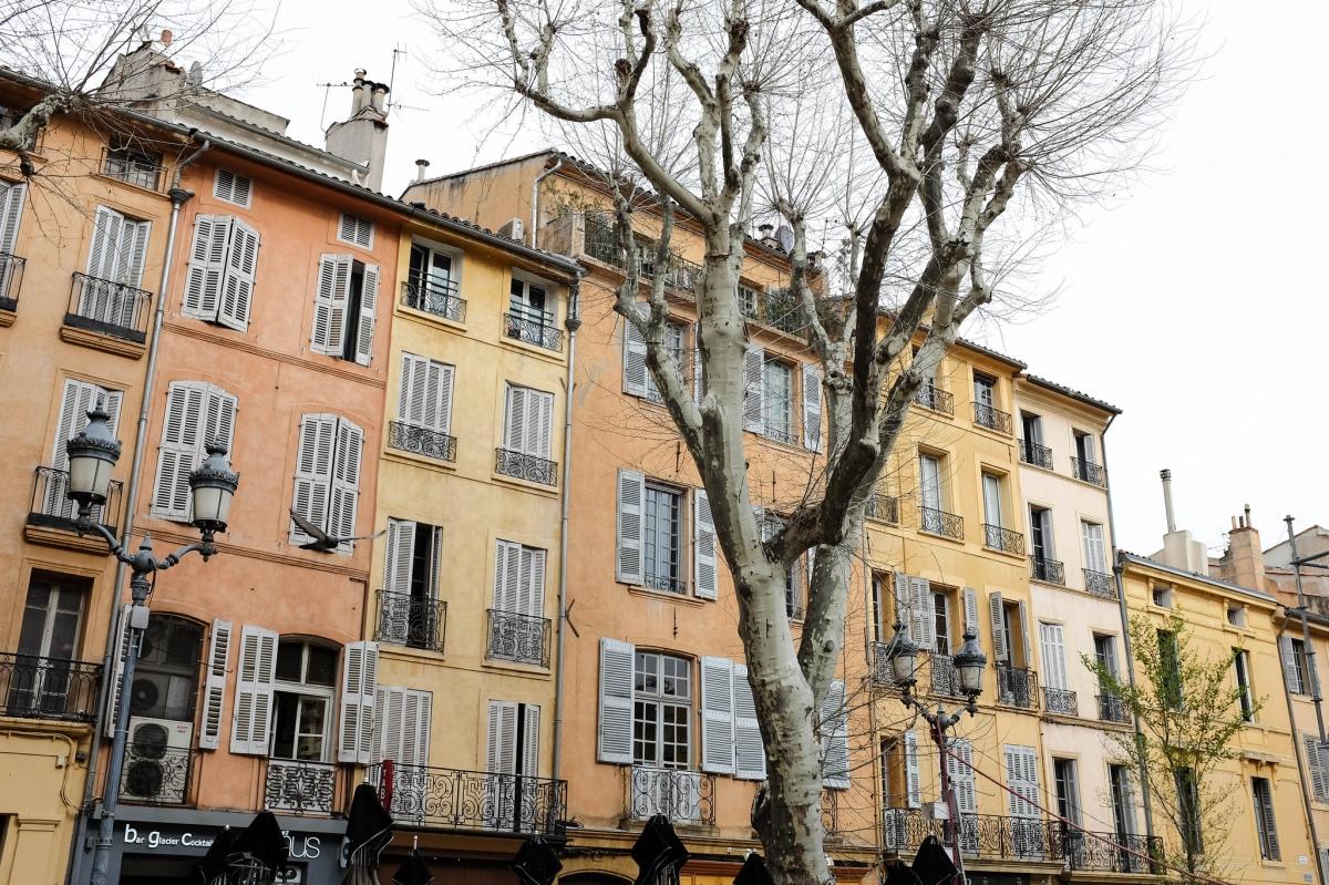 Aix en provence architecture