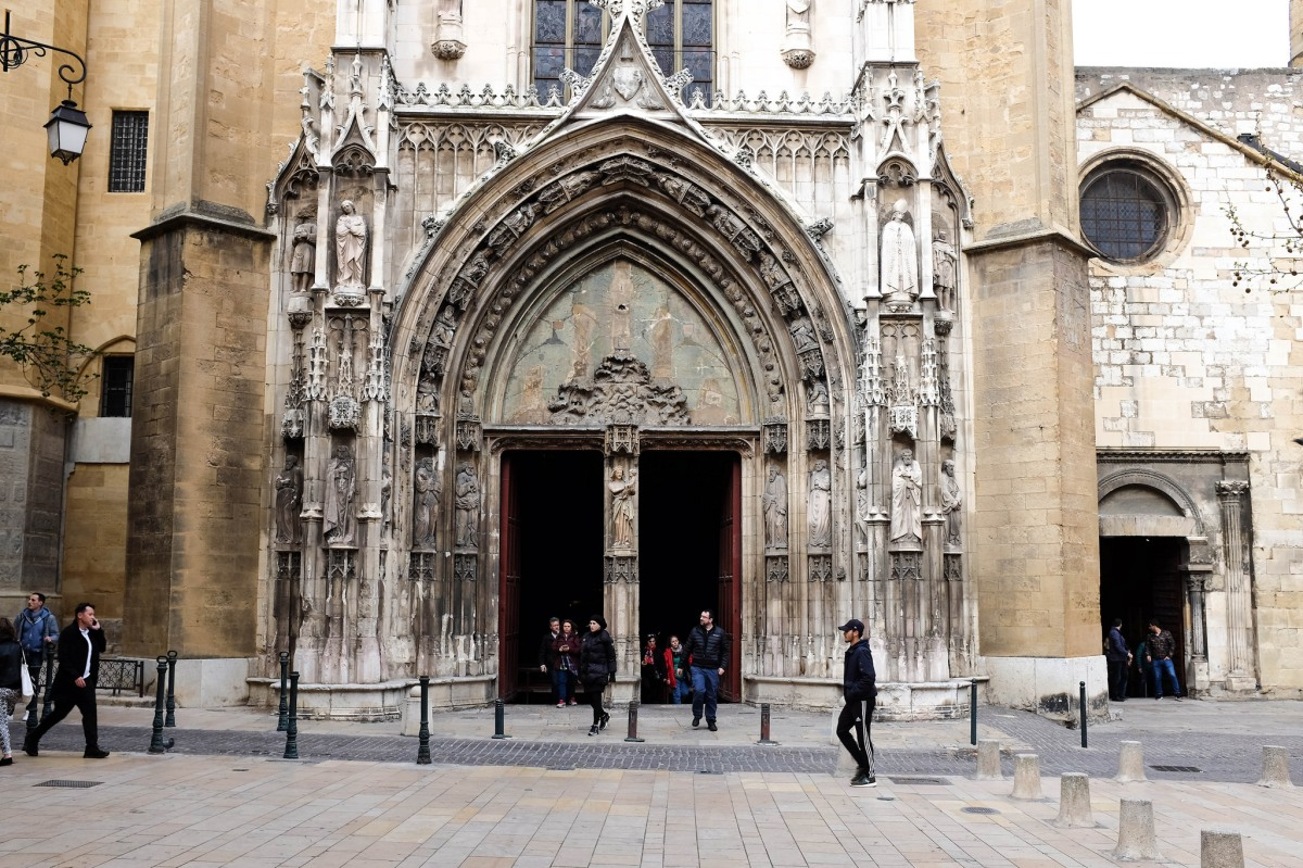 Aix en provence cathedrale