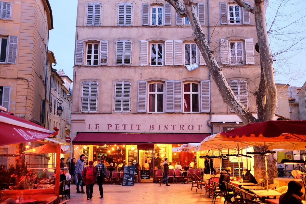 Aix en provence old city