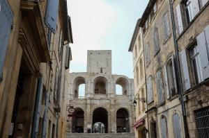 L'amphithéâtre romain d'Arles