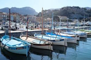 Le port de pêche de Cassis dans les Bouches-du-Rhône