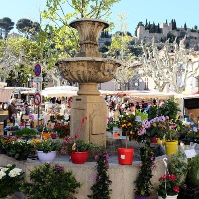 Le marché provençal de Cassis