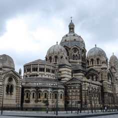 L'immense cathédrale de la Major, la plus belle et la plus grande de Marseille