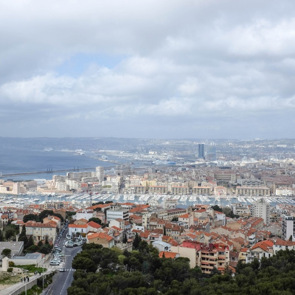 Marseille à perte de vue