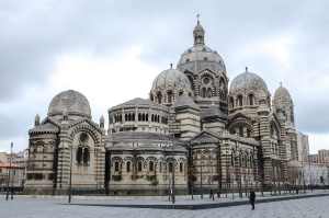 L'immense cathédrale de la Major, la plus belle et la plus grande de Marseille