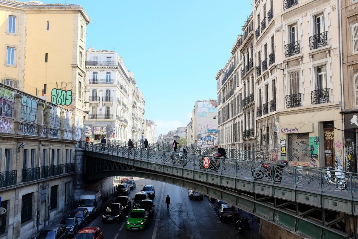 Marseille pont aubagne