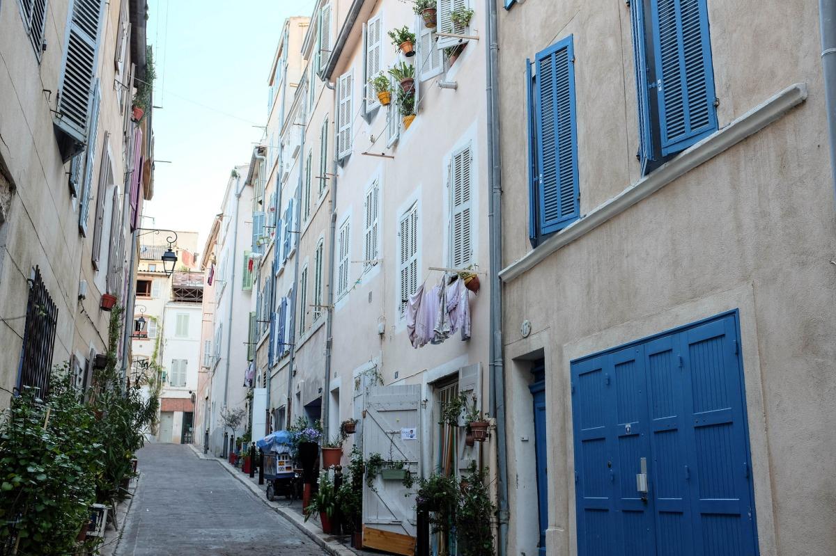 Marseille quartier panier