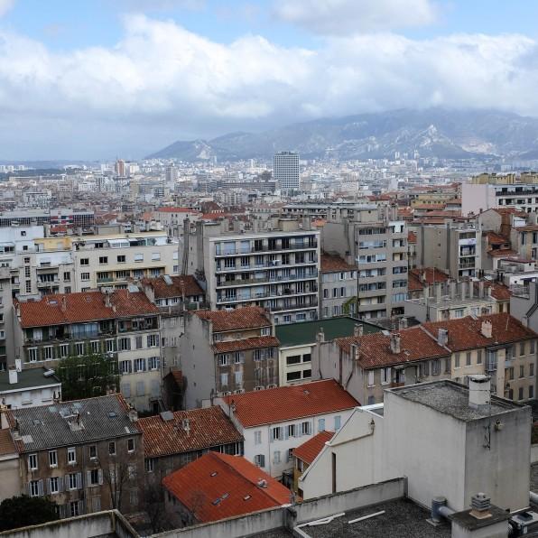 La plus belle vue sur Marseille depuis Notre Dame de la Garde qui domine la ville