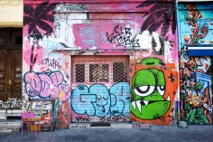 Marseille est une ville colorée où le Street Art tient une place importante