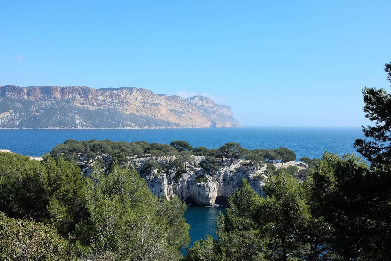 Les paysages magnifiques du Parc national des Calanques entre Cassis et Marseille