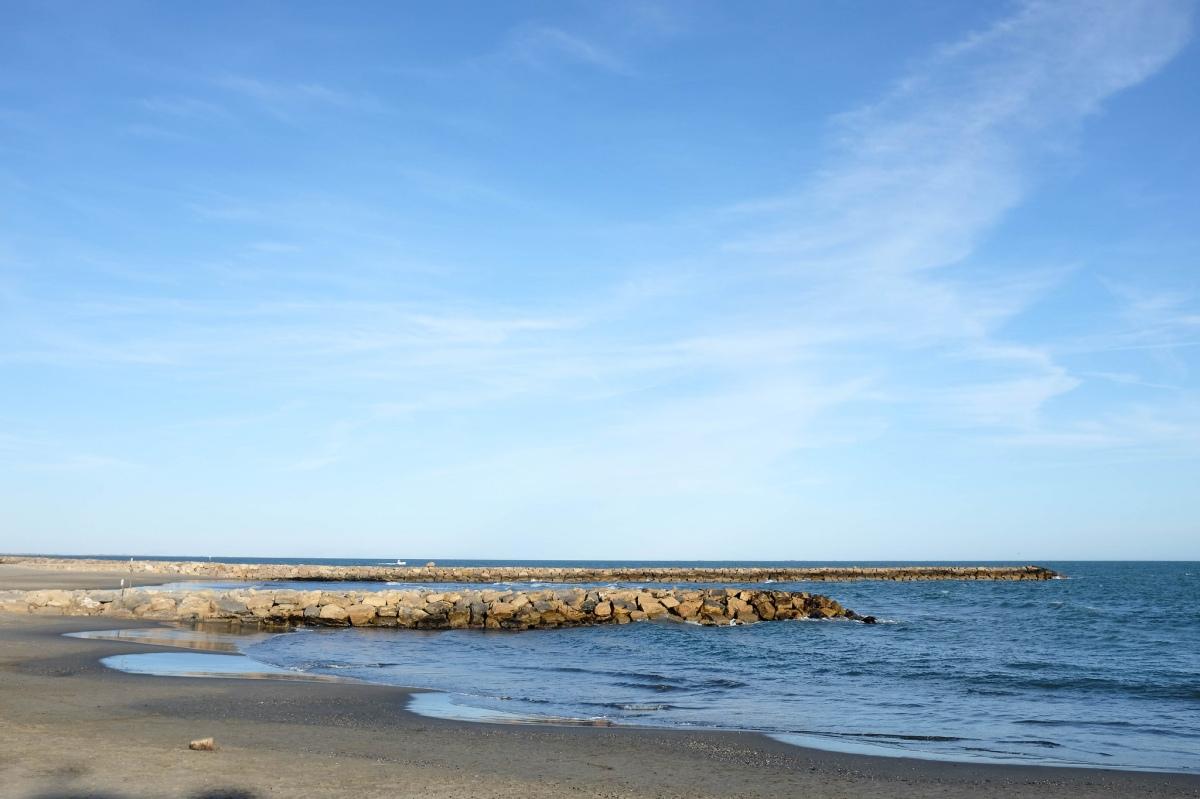 Saintes Maries plage