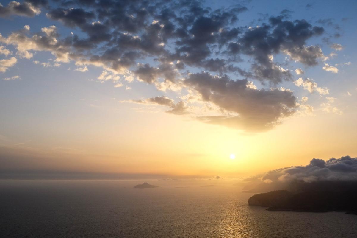 sunset provence