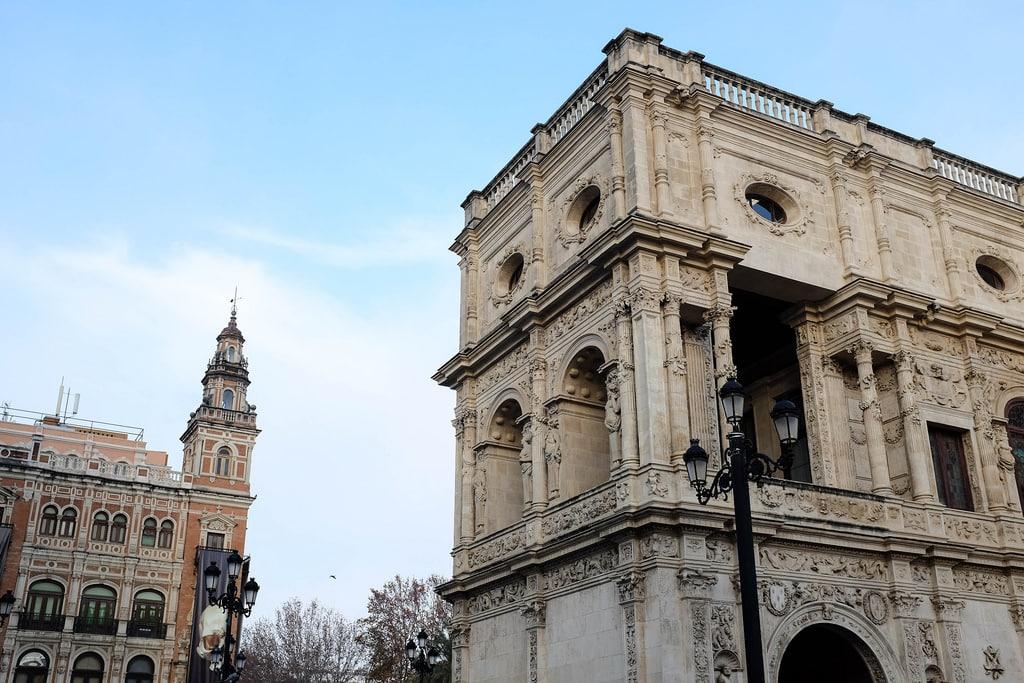 architecture seville city