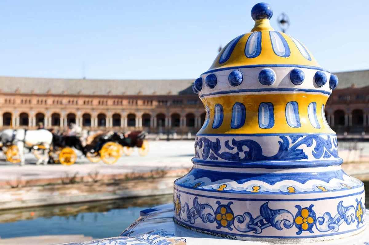 azulejos ceramica plaza espana