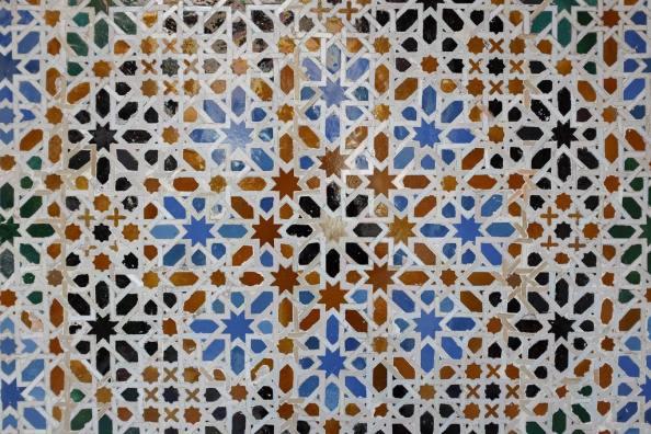 Les azulejos décorant certains murs du Real Alcázar de Séville