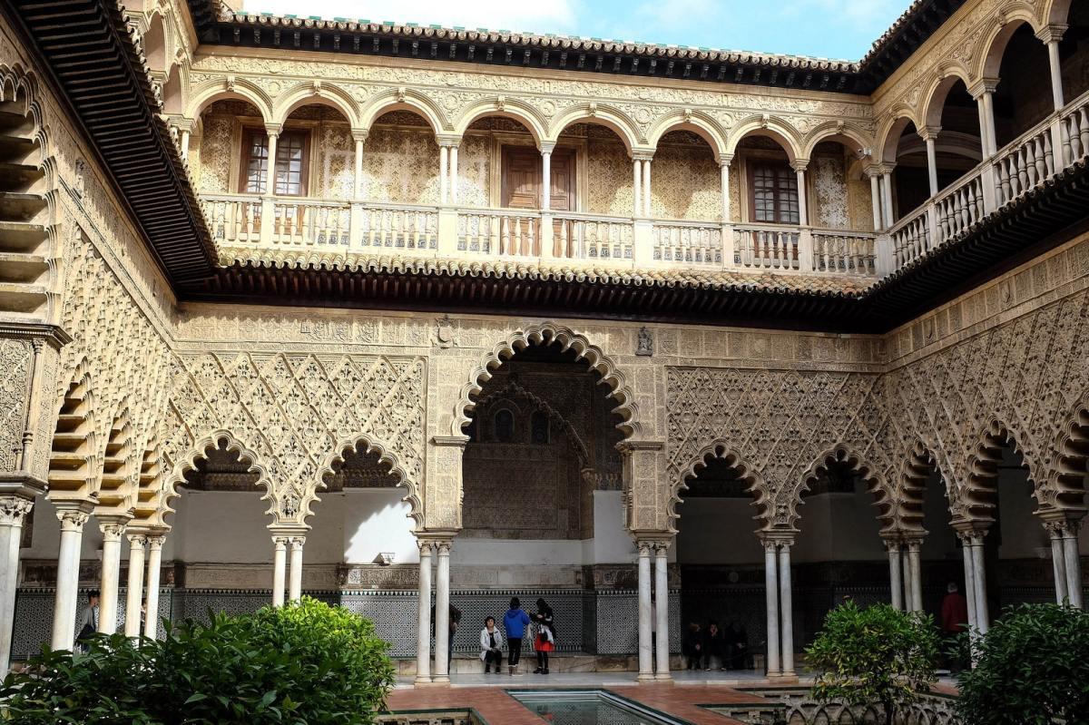 seville alcazar palast