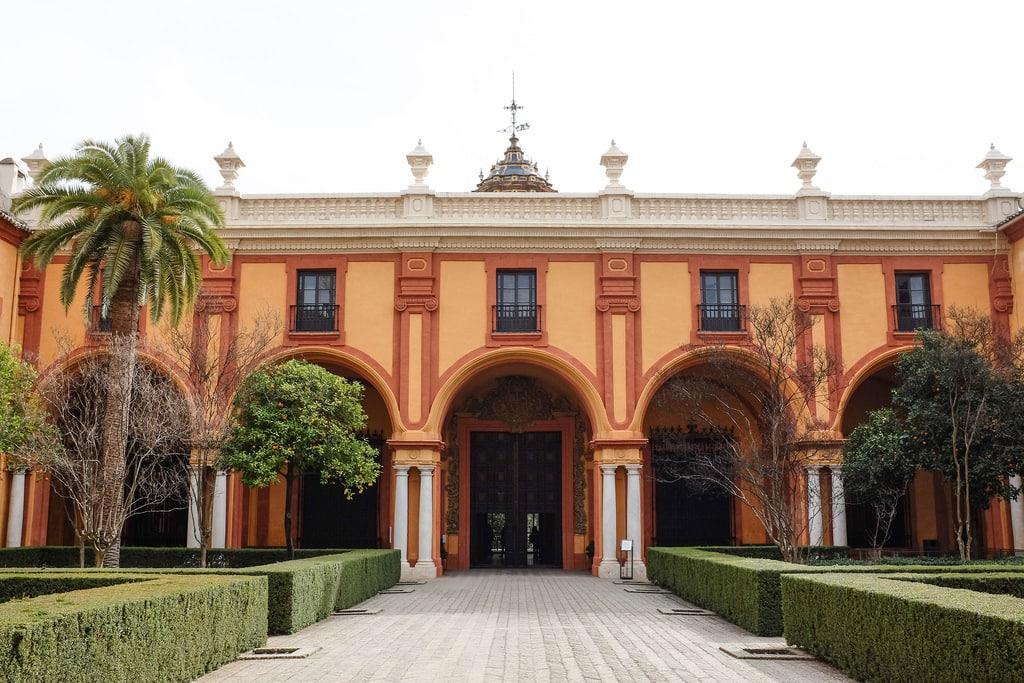 Seville real Alcazar palatio