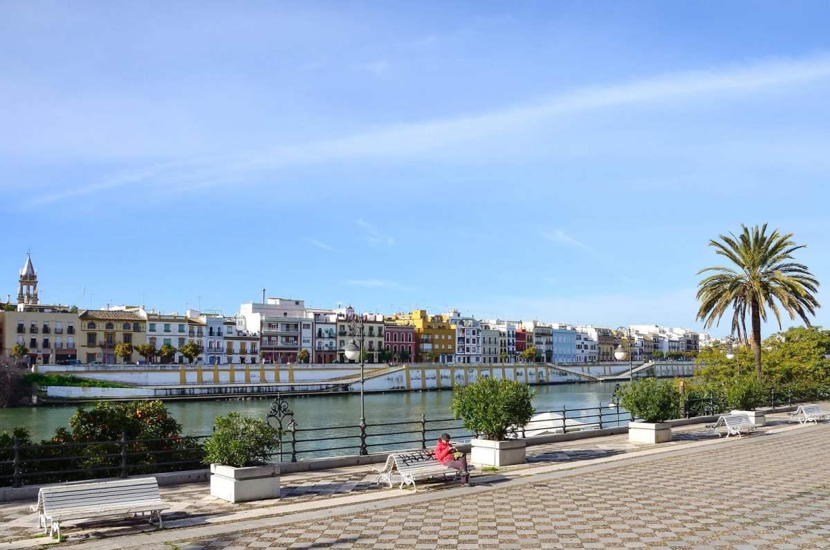 Seville triana guadalquivir