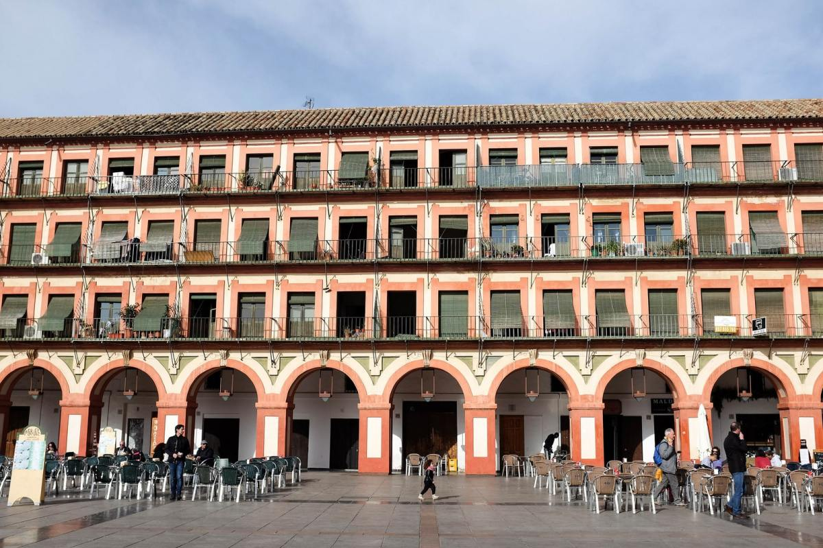 La Plaza de la Corredera, la plus grande place de Cordoue