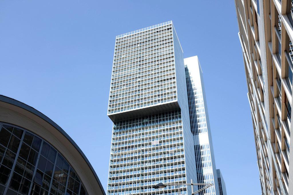 L'immeuble De Rotterdam avec son architecture moderne