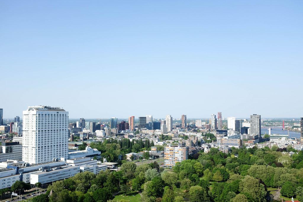 Euromast cityscape