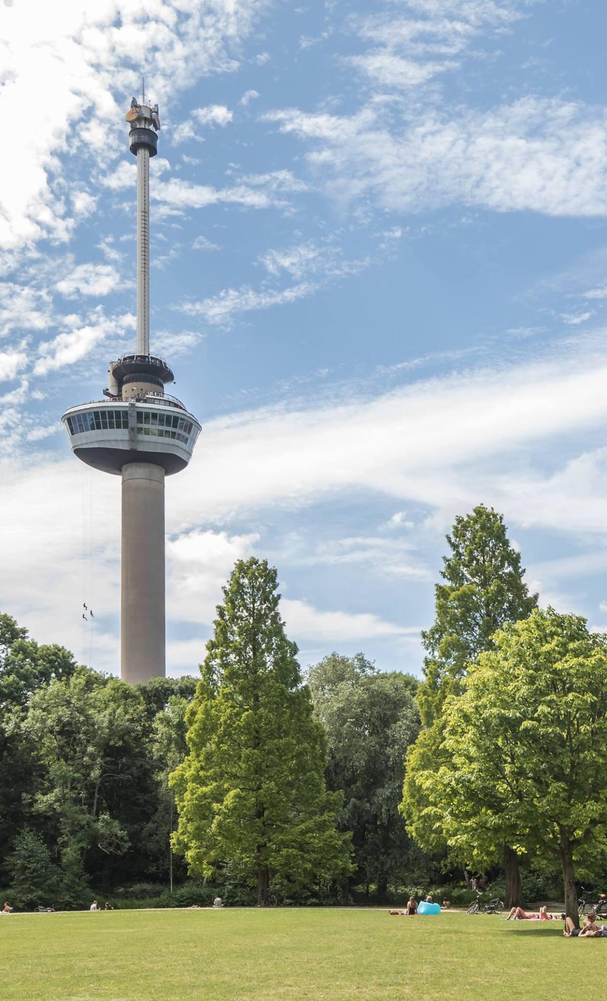 Euromast tower rotterdam