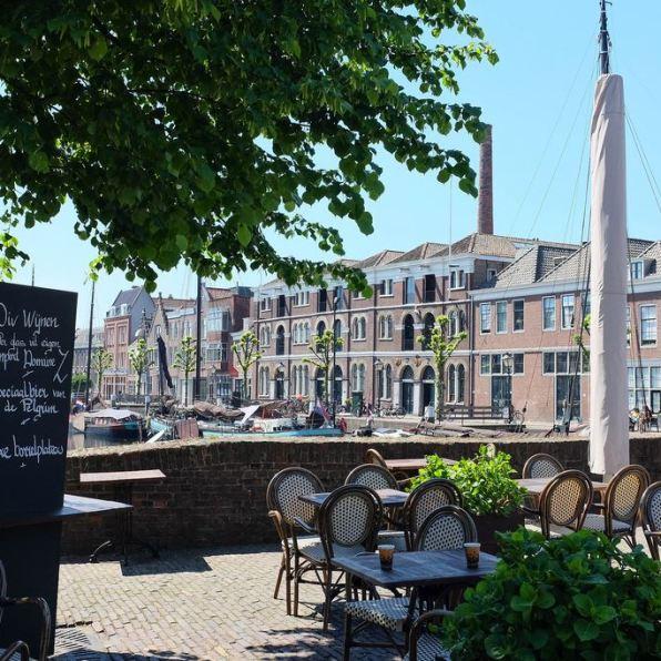 Le calme reposant de Delfshaven, le plus vieux quartier de Rotterdam