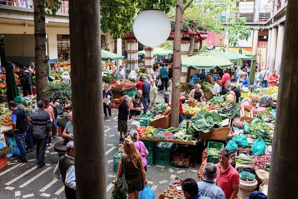 Le marché aux fleurs Mercado dos Lavradores de Funchal
