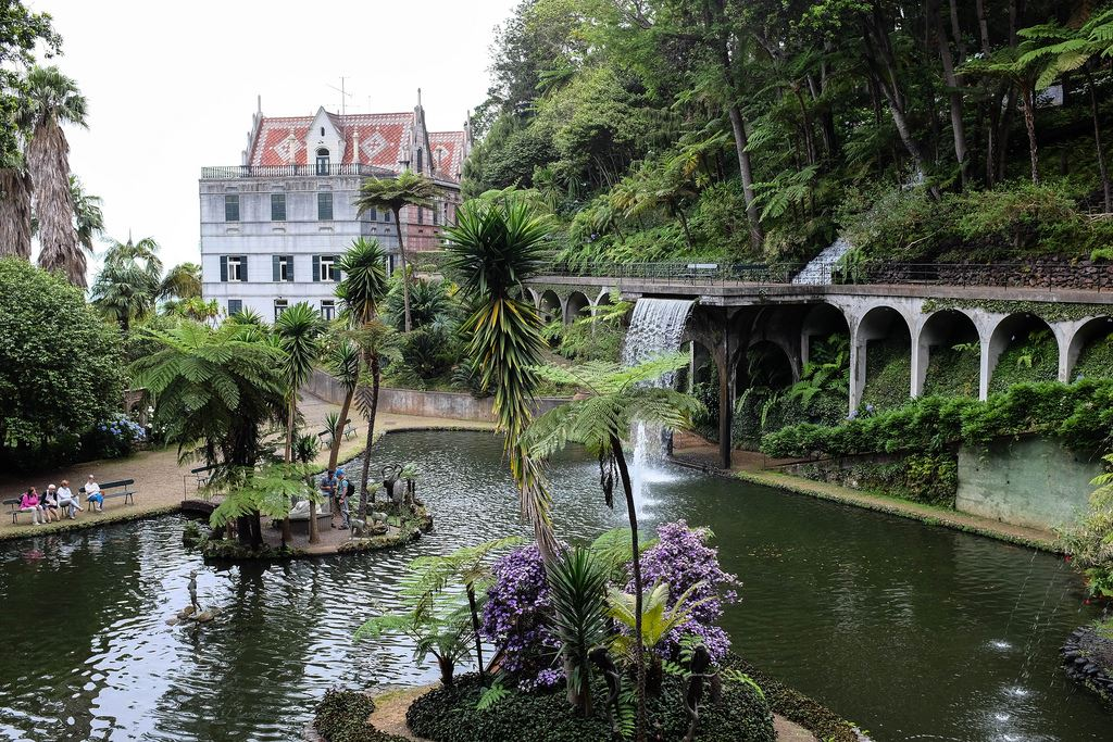 Le parc du jardin tropical Monte Palace de Funchal