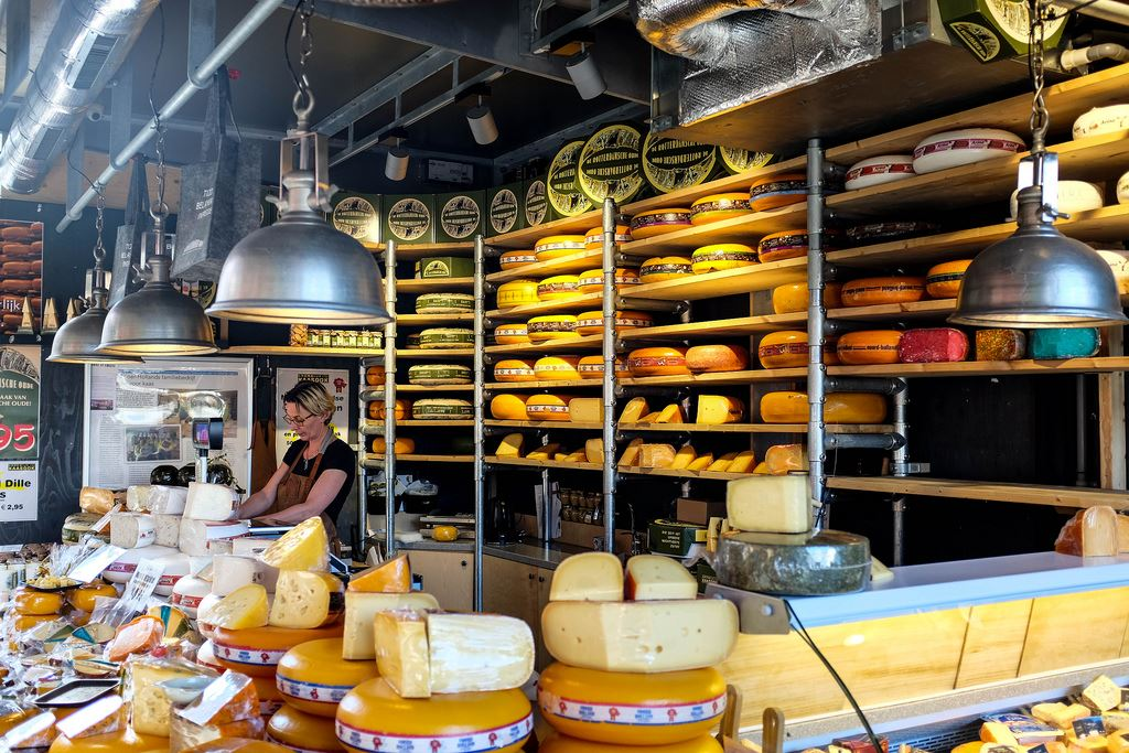 Markthal fromage
