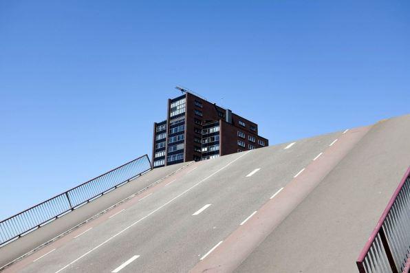 Un pont levant à Rotterdam