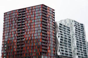Les immeubles Calypso et leur style moderne