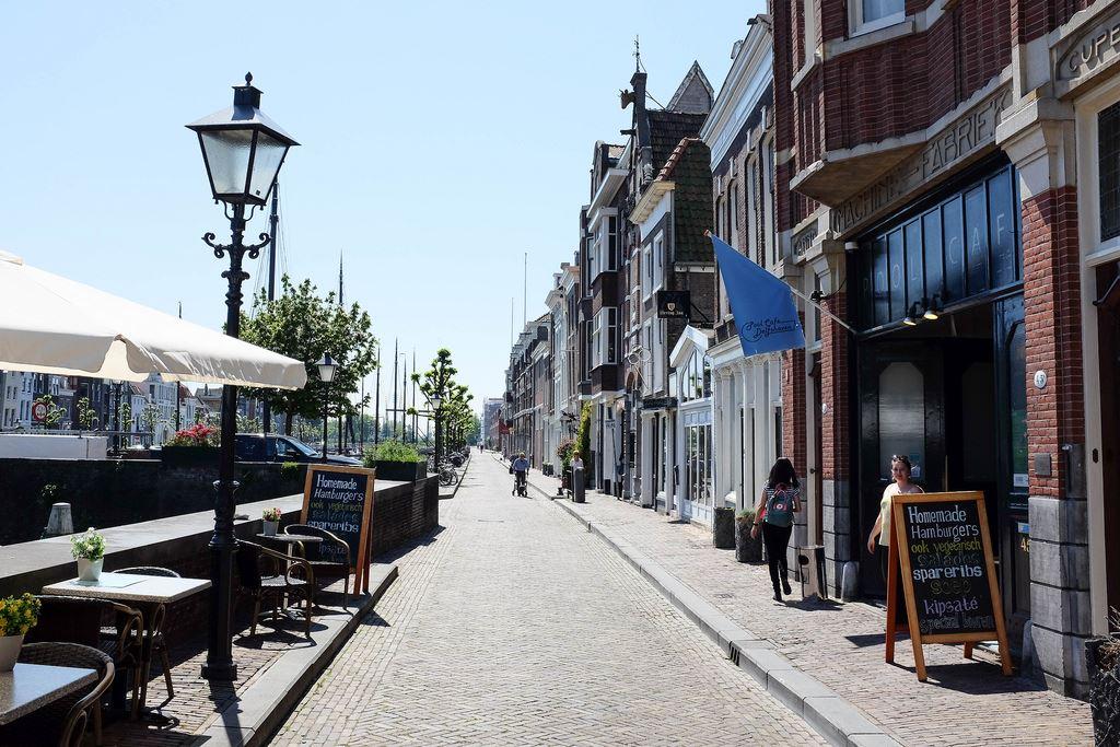 Rotterdam Delfshaven historic harbour