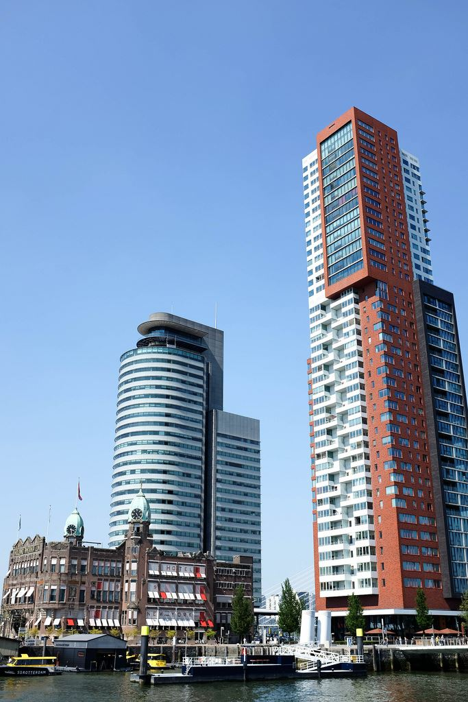 Skyscrapers in Rotterdam