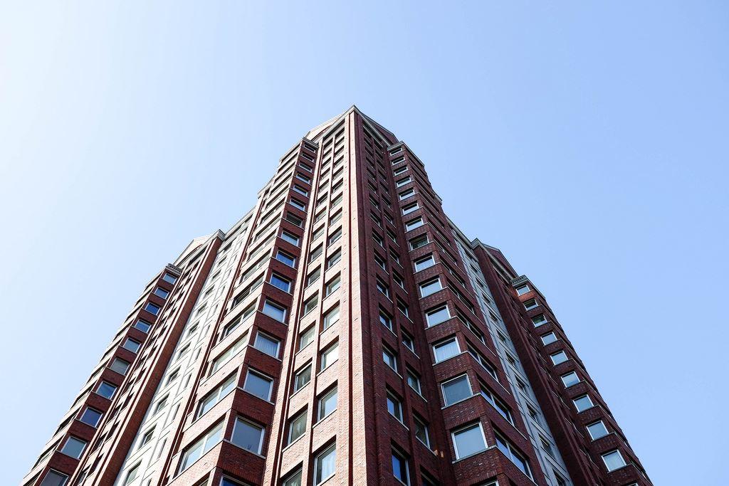 rotterdam skyscraper city