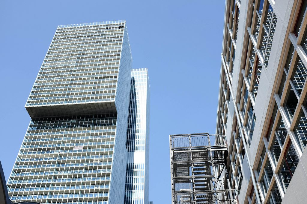 L'architecture moderne de Rotterdam