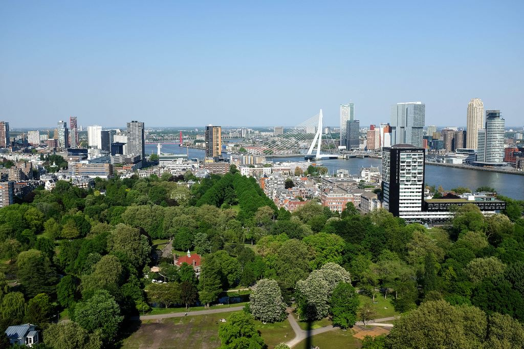skyline euromast Rotterdam